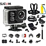 Original SJCAM SJ7 Star WiFi 4K 30FPS 2 Touch Screen Remote Action Helmet Sports DV Camera Waterproof Ambarella A12S75 Chipset+6-in-1 Accessories