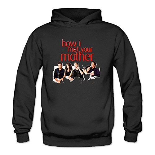 YYShirt Women's How I Met Your Mother Hoodie Sweatshirt Large Black