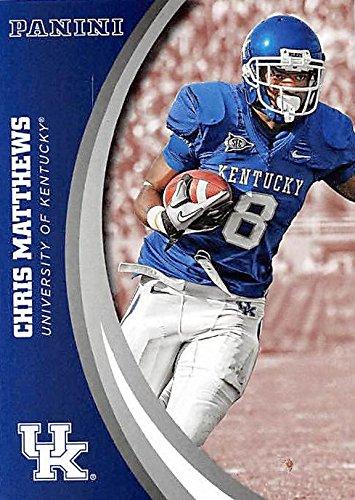 Chris Matthews football card (Kentucky Wildcats) 2016 Panini Team Collection #14