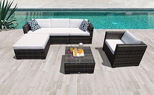 Super Patio Outdoor Patio Furniture Set, 6 Piece All