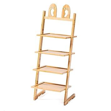 Schuhregal Bambus Mini Staubdicht Platzsparende Lagerung Regal Dorm ...