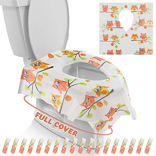 Gimars Disposable Travel Toilet Covers product image