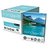 Wholesale CASE of 5 - Domtar EarthChoice 30 Recycled Multipurpose Paper-Rec Office Paper, GE92, 20lb., 8-1/2''x11'', 5000/CT, WE