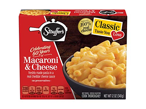 Nestle Stouffers Side Dish Macaroni and Cheese, 12 Ounce -- 12 per case. ()
