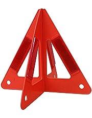 "Surtek TRF10A Triángulo Reflejante, Armable, 10"""