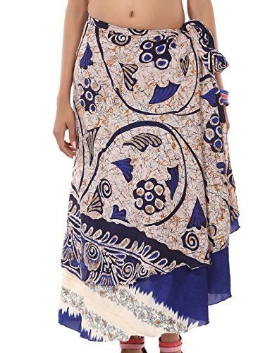 Lux Maternity Jersey (Womens Skirt Wholesale Printed Reversible Two Layer Magic Wrap)