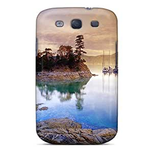 Unique Design Galaxy S3 Durable Tpu Case Cover Canada Lake