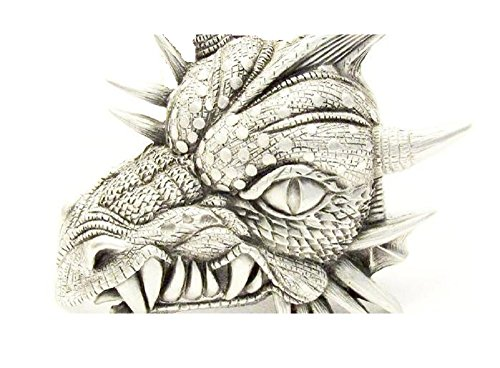 Snarling Dragon Head Belt Buckle Authentic Great American Brand Pewter belt buckle #4381