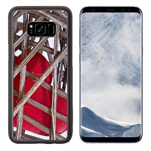 - Liili Premium Samsung Galaxy S8 Plus Aluminum Backplate Bumper Snap Case ID: 25204899 Heart in cage Valentine s Day creative abstract concept