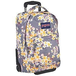 """JanSport SuperBreak Wheeled Backpack - 19"""" (Diamond Plumeria)"""