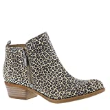 Lucky Brand Women's Basel Bootie,Sesame Printed Suede,US 10 M