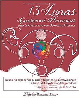 13 Lunas: Cuaderno menstrual para la creatividad con ...