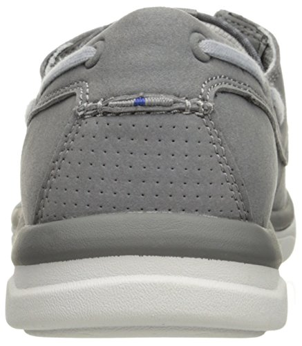 Clarks Mens Marus Edge Oxford, Grey, 12 M US