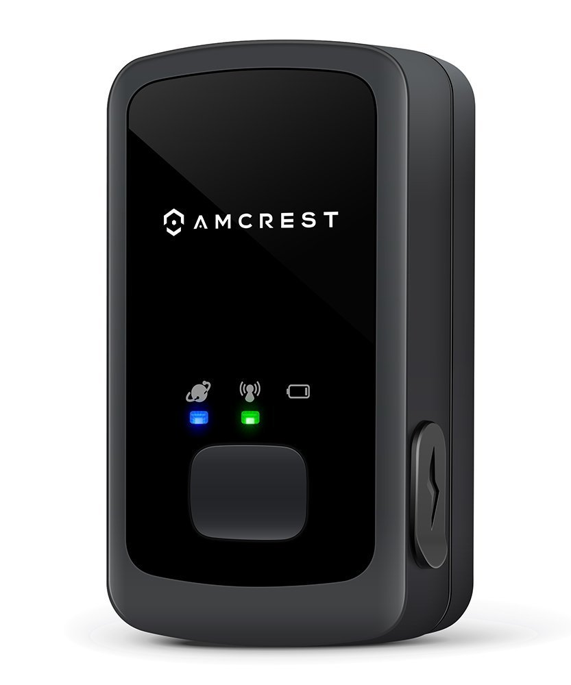 Amcrest AM-GL300 V3 Portable Mini Real-Time GPS Tracker for Vehicles, Cars, Kids, Persons, Assets - Hidden Tracking Device with Unlimited Text/Email Alerts, Geo-Fencing, 10-14 Day Battery, No Contract