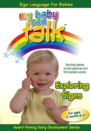 e216b6617 Amazon.com  My Baby Can Talk - Exploring Signs  Baby Hands ...