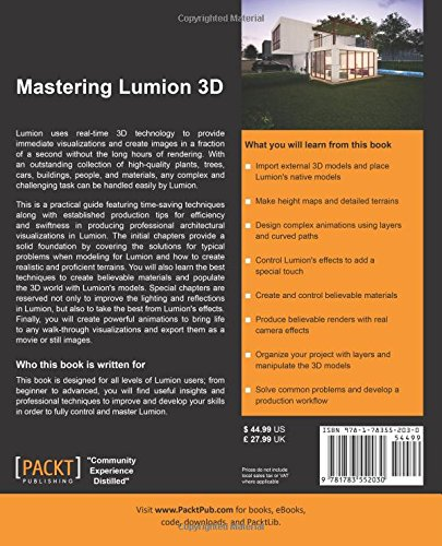 Buy Mastering Lumion 3D Book Online at Low Prices in India