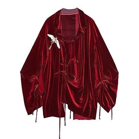 XXIN /Camisa Y Corbata Floja Long-Sleeved Hembra/Hembra Camisa/M ...
