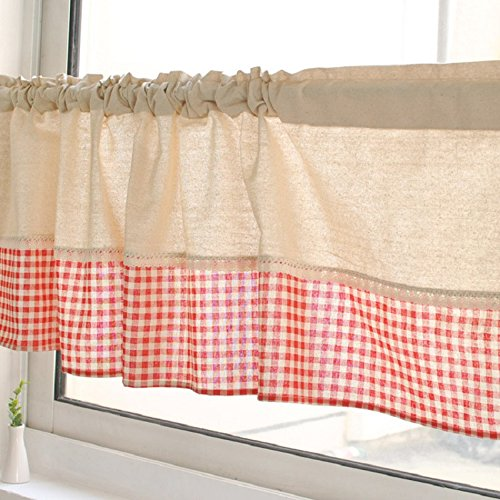 tab top kitchen curtains - 9