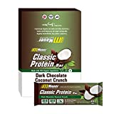 Cheap Mauer Sports Nutrition Classic Protein Bars, Dark Chocolate Covered Coconut Crunch, 12 Count