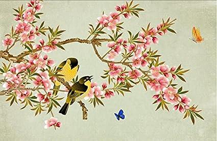Mbwlkj 3d Animated Desktop Wallpaper Flower Wall Decor New