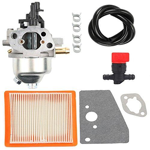Harbot Carburator with Fuel Line Shut Off Valve Rebuild Diaphragm Gasket Kit for Kohler XT650 XT675 XT149 20371 Courage XT6 XT7 Engine 14 853 21-S 14 853 36-S 14 853 49-S Stens 520-706 (Best Lawn Blower 2019)