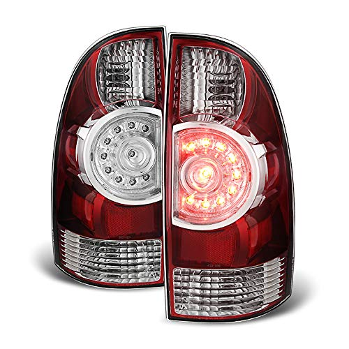 Light Toyota Brake - ACANII - For 2005-2015 Toyota Tacoma LED Tail Brake Lights Replacement 05-15 Left+Right