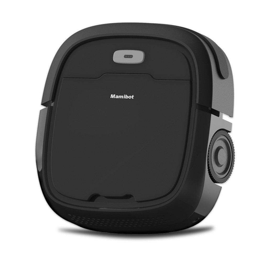 Mamibot Robotic Vacuum Cleaner Cleaning Robot with Anti-Falling Wet Mopping 1200pa Super Suction with 2600mAh Battery Capacity Good for Pet Hair Hard Floor with Self Charging