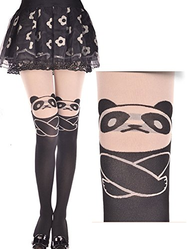 Calcetines Multicolor Jelinda Hug Patterns Woman Medias Panda Girl Tattoo Pattern Bottoms IqwBgAq