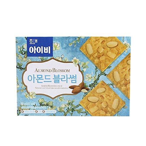 Haitai Ivy Cracker Almond Blossom 89G X 10 아이비 Sugar Free