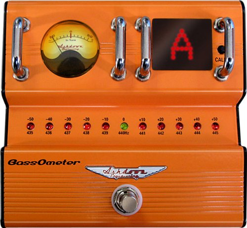 Ashdown FSBASSOMETER Guitar Pedal Tuner