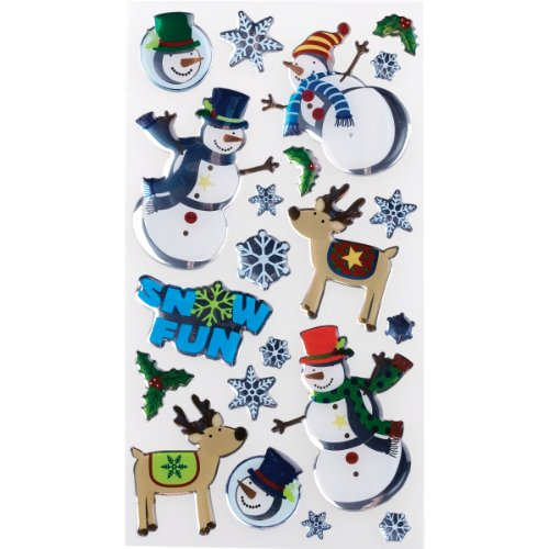 (Sticko Stickers, Christmas Rolly Polly Snowmen)