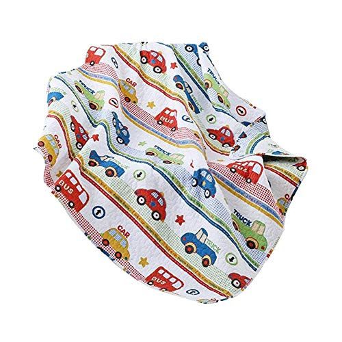 Abreeze Coverlet Quilt Bedspread Mini-car Summer Air-Conditioning Quilt for Boys 43