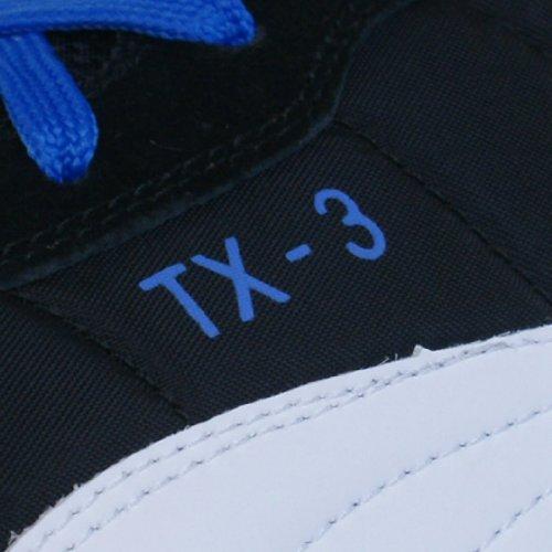 Puma Caña cuero Schwarz Blau de Weiss TX unisex 3 baja qpZq6