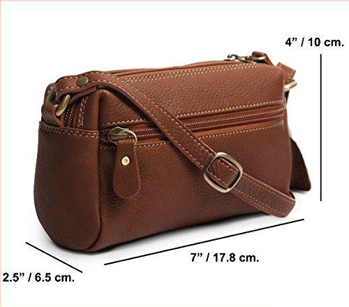 Bag lady wide leather pillow shape by burirumvoravet