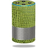 MightySkins Skin Amazon Echo (2nd Gen) - Croc Skin | Protective, Durable Unique Vinyl Decal wrap Cover | Easy to Apply, Remove Change Styles | Made in The USA