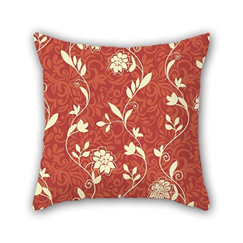 NICEPLW 20 X 20 Inches / 50 By 50 Cm Flower Throw Pillow Case,both Sides Is Fit For Home,gril (Gibson Girl Wig)