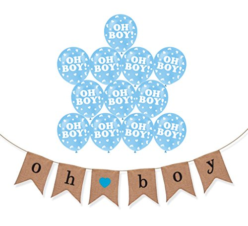 baby shower boy balloons - 6