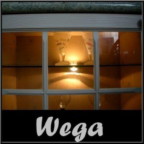 Wega Halog Glasboden-Vitrinen-Beleuchtung//Klemmleuchte