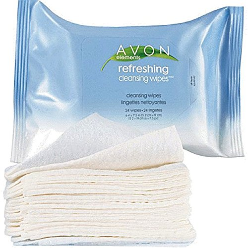 Avon Elements Refreshing Cleansing Wipes (Avon Facial Wipes)