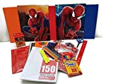 Back to School Supplies for Boys Over 52 Items in this Spider Man Bundle