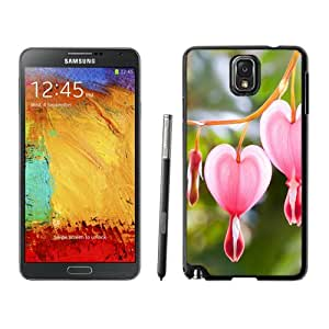 Beautiful Custom Designed Samsung Galaxy Note 3 N900A N900V N900P N900T Phone Case For Pink Heart Flowers Phone Case Cover