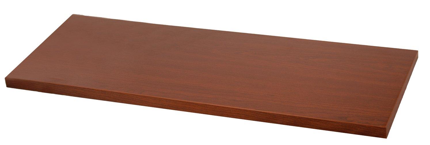 Organized Living freedomRail Wood Shelf, 60-inch x 14-inch - Modern Cherry SCHULTE 7313146025