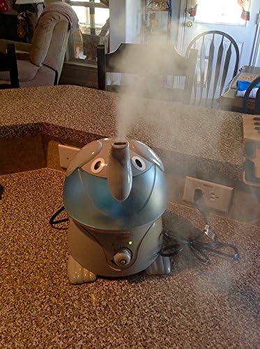 Crane Cool Mist Gray Elephant Humidifier