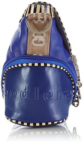 nienstedten blu Borsa Couture Blu German piping Poodlebag Donna A Tracolla qz7gtn