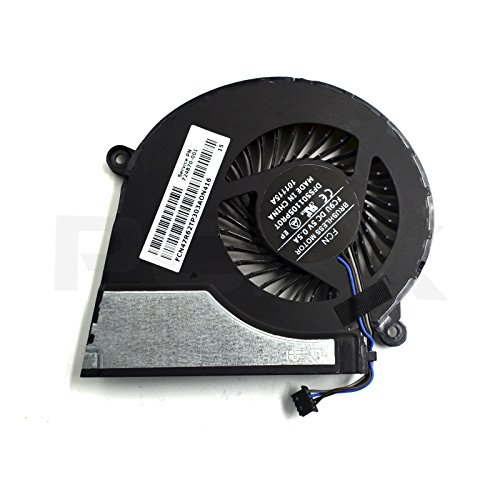 DBParts CPU Fan For HP Pavilion 15-E043CL 15-E077NR 15-E078NR 15-E084ca 15-E085NR 15-E010us 15-E012NR 15-E014NR 15-E020us 15-E028us 15-E037cl 15-E039tx, P/N: 724870-001 719860-001 725684-001 4-Pin by DBParts (Image #2)