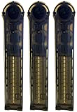 SportPro CYMA 280 Round Polymer High Capacity Magazine AEG P90 3 Pack Airsoft - Transparent