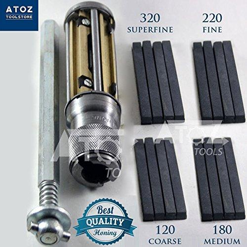 Engine Cylinder Hone Kit 50 to 75 mm HONING MACHINE + 4 set Honing Stones - Address Fedex By Tracking