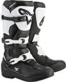 Alpinestars Tech 3 Motocross Off-Road Boots 2018 Version Men's Black/White Size 14