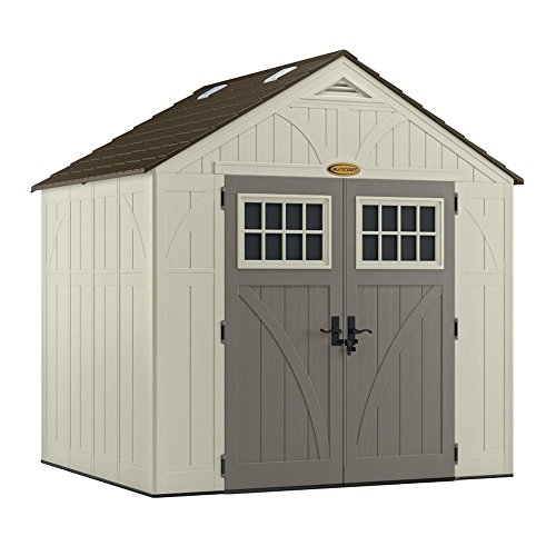 Suncast BMS8700 Tremont 8' x 7' Storage Shed by Suncast