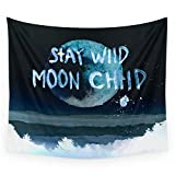 Society6 Stay Wild Moon Child (dark) Wall Tapestry Small: 51'' x 60''